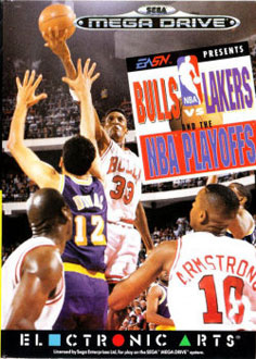 Carátula del juego Bulls vs Lakers and the NBA Playoffs (Genesis)
