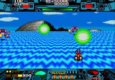 Pantallazo del juego online Burning Force (Genesis)