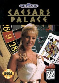 Carátula del juego Caesars Palace (Genesis)