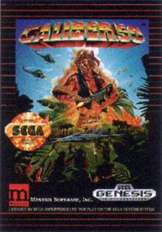 Carátula del juego Caliber 50 (Genesis)