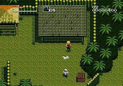 Pantallazo del juego online Caliber 50 (Genesis)