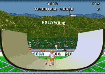 Pantallazo del juego online California Games (Genesis)