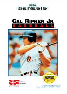 Portada de la descarga de Cal Ripken Jr Baseball