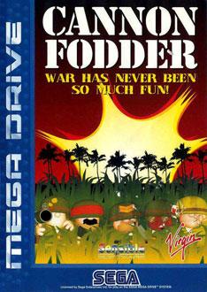 Carátula del juego Cannon Fodder (Genesis)