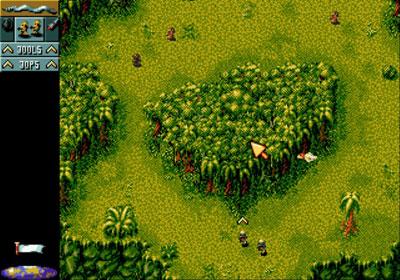Pantallazo del juego online Cannon Fodder (Genesis)