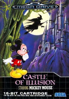 Carátula del juego Castle of Illusion Starring Mickey Mouse (Genesis)