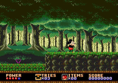 Pantallazo del juego online Castle of Illusion Starring Mickey Mouse (Genesis)