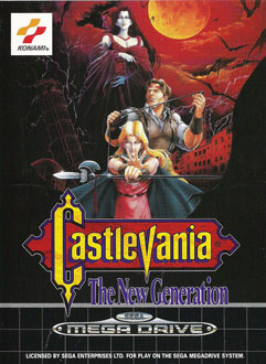 Portada de la descarga de Castlevania – The New Generation