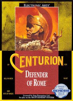 Carátula del juego Centurion - Defender of Rome (Genesis)