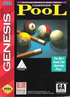 Carátula del juego Championship Pool (Genesis)