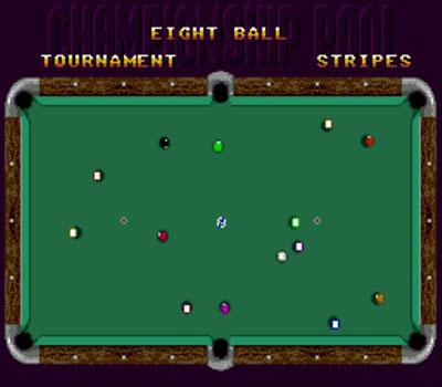 Pantallazo del juego online Championship Pool (Genesis)