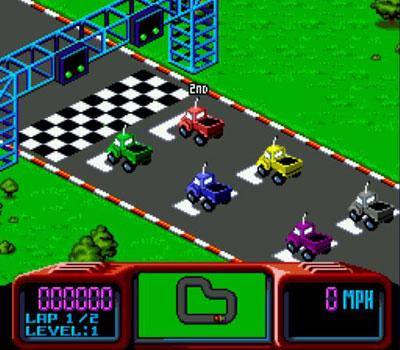 Pantallazo del juego online Championship Pro-Am (Genesis)