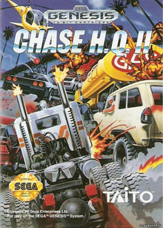 Carátula del juego Chase HQ II (Genesis)