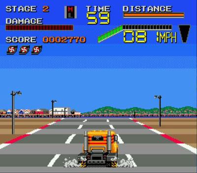 Pantallazo del juego online Chase HQ II (Genesis)