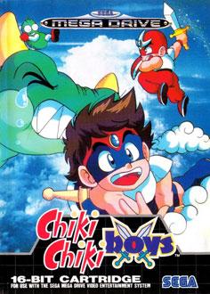 Carátula del juego Chiki Chiki Boys (Genesis)
