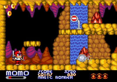 Pantallazo del juego online Chiki Chiki Boys (Genesis)