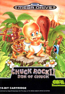 Portada de la descarga de Chuck Rock II – Son of Chuck