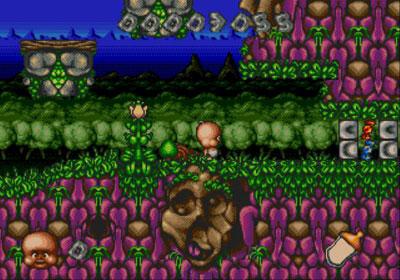 Pantallazo del juego online Chuck Rock II - Son of Chuck (Genesis)