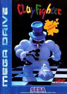 Carátula del juego Clay Fighter (Genesis)