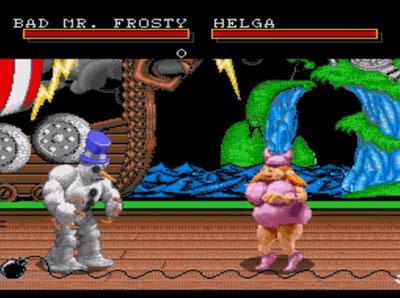 Pantallazo del juego online Clay Fighter (Genesis)