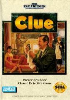 Carátula del juego Clue (Genesis)