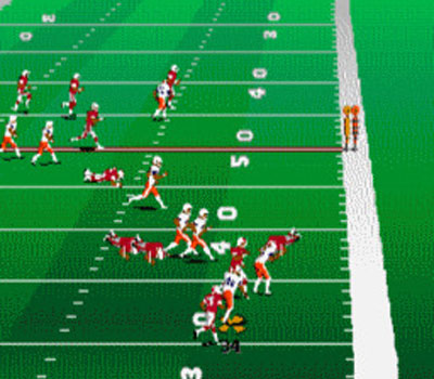 Pantallazo del juego online College Football USA 96 (Genesis)