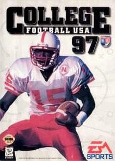 Portada de la descarga de College Football USA 97 – The Road to New Orleans