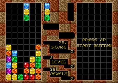 Pantallazo del juego online Columns (Genesis)