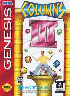Carátula del juego Columns III - Revenge of Columns (Genesis)