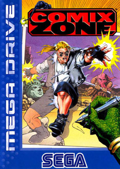Carátula del juego Comix Zone (Genesis)