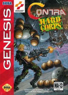 Carátula del juego Contra - Hard Corps (Genesis)