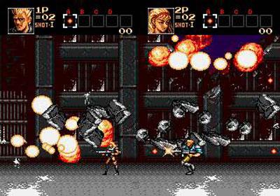 Pantallazo del juego online Contra - Hard Corps (Genesis)