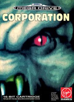 Carátula del juego Corporation (Genesis)