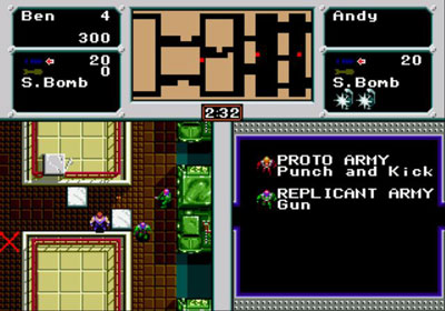 Pantallazo del juego online Crack Down (Genesis)