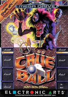 Juego online Crue Ball Heavy Metal Pinball (Genesis)