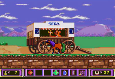 Pantallazo del juego online Crystal's Pony Tale (Genesis)