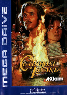 Carátula del juego Cutthroat Island (Genesis)