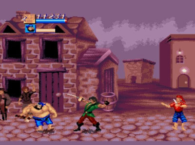 Pantallazo del juego online Cutthroat Island (Genesis)