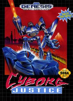 Portada de la descarga de Cyborg Justice