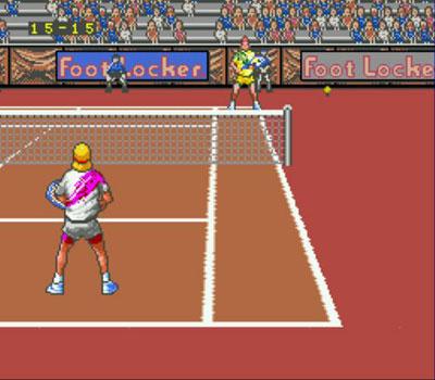 Pantallazo del juego online David Crane's Amazing Tennis (Genesis)
