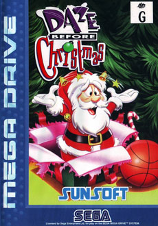 Carátula del juego Daze Before Christmas (Genesis)