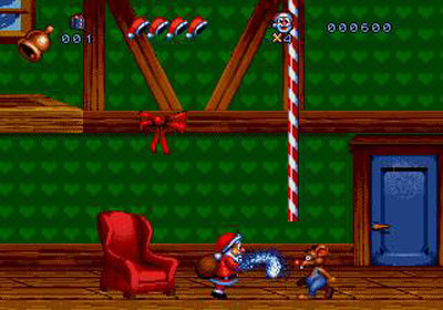 Pantallazo del juego online Daze Before Christmas (Genesis)