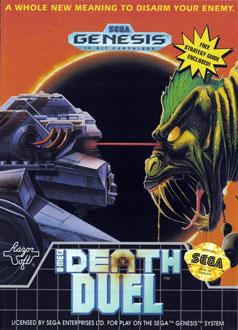 Carátula del juego Death Duel (Genesis)