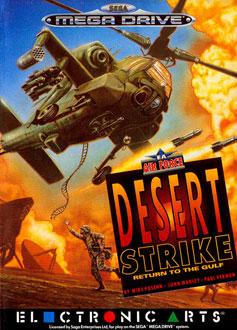 Carátula del juego Desert Strike - Return to the Gulf (Genesis)