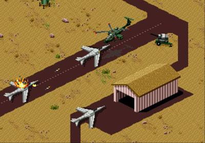 Pantallazo del juego online Desert Strike - Return to the Gulf (Genesis)