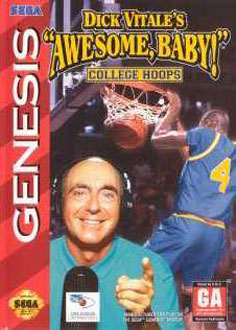 Carátula del juego Dick Vitale's Awesome Baby College Hoops (Genesis)