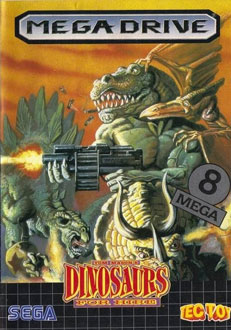 Carátula del juego Dinosaurs for Hire (Genesis)