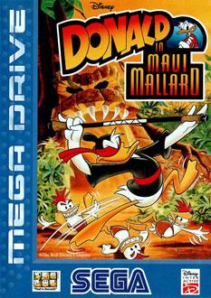 Carátula del juego Donald in Maui Mallard (Genesis)