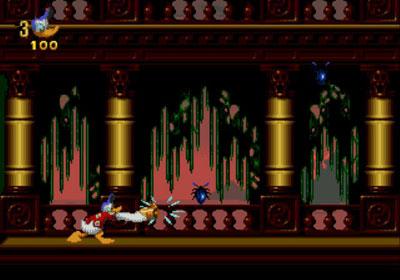 Pantallazo del juego online Donald in Maui Mallard (Genesis)