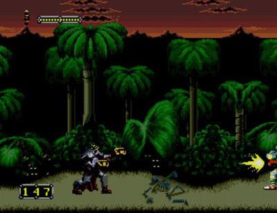 Pantallazo del juego online Doom Troopers (Genesis)
